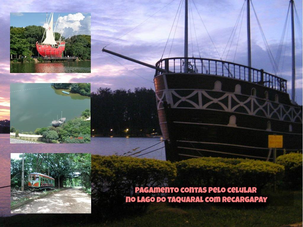 Pagamento contas pelo celular no Lago do Taquaral com Recargapay