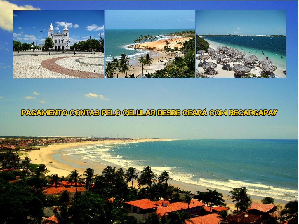 Pagamento contas pelo celular desde Ceará com Recargapay