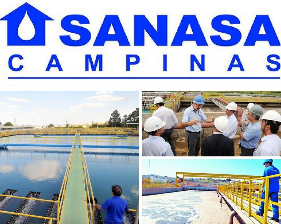 Sanasa é a maior revendedora de água de Campinas.