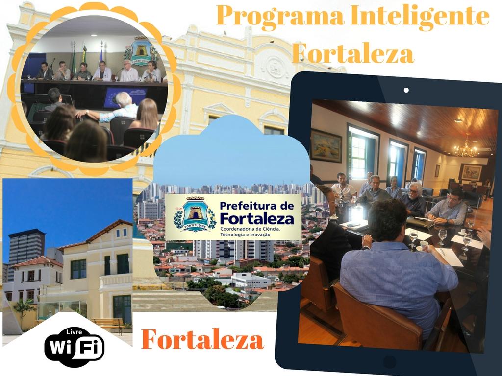 Programa Inteligente de Fortaleza oferece Wi-Fi livre