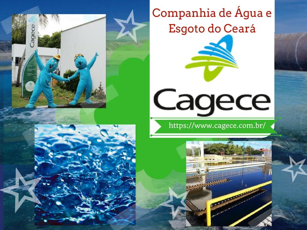 Cagece: Companhia de água e esgoto do Ceará em Fortaleza