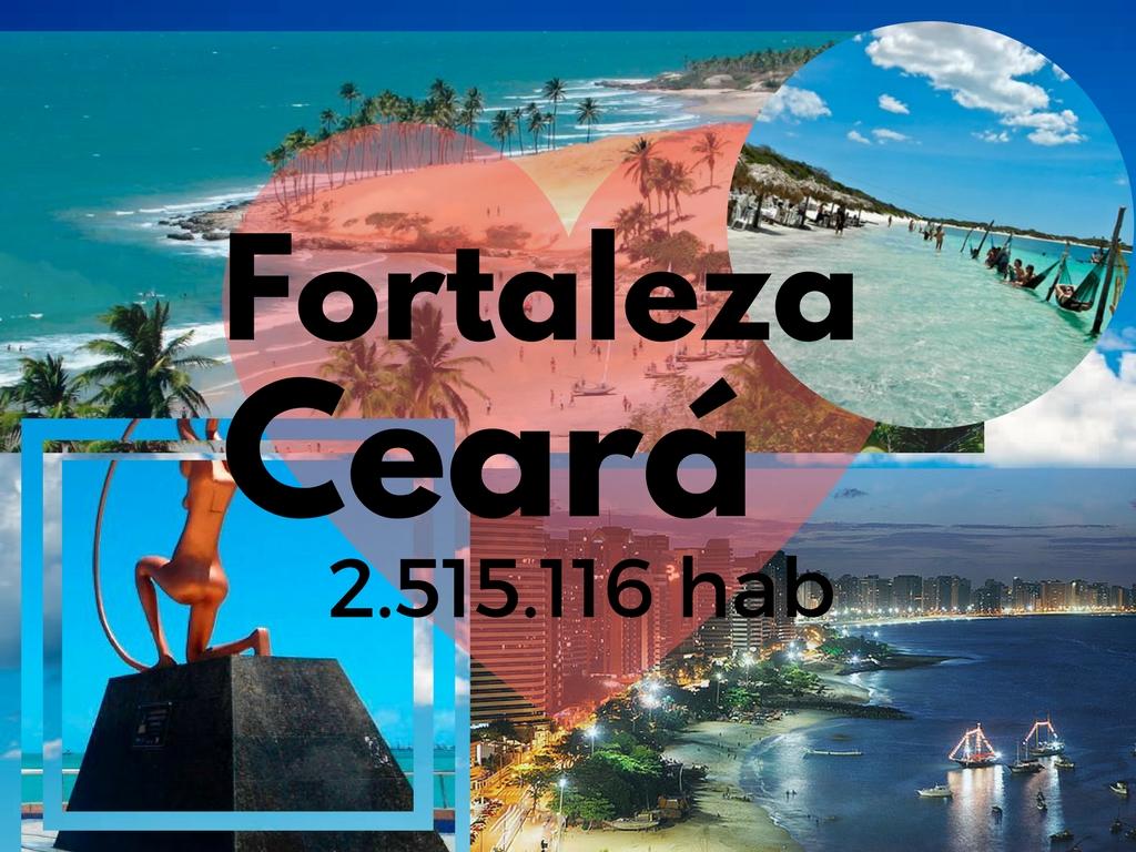Mais de 34 km de formosas praias para visitar em Fortaleza