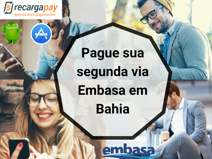 Pague Embasa 2 via online em Bahia