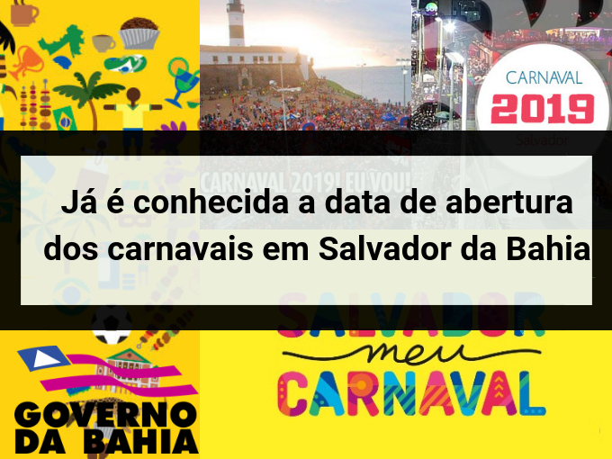 Revelado data de abertura do Carnaval de Salvador