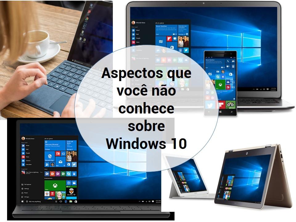 Considerações que você deve saber sobre Windows 10