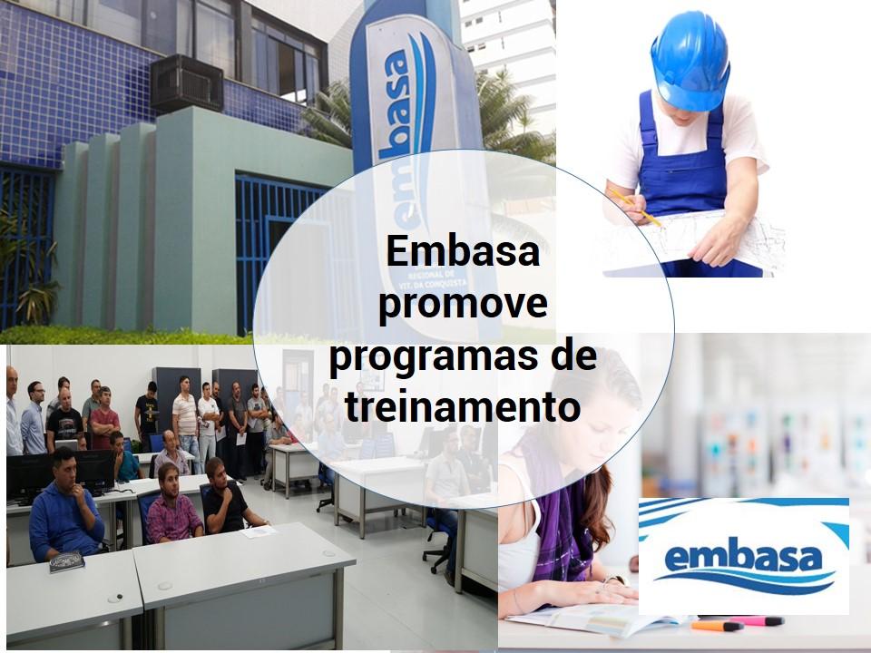 Embasa promove ensino superior para seus funcionários