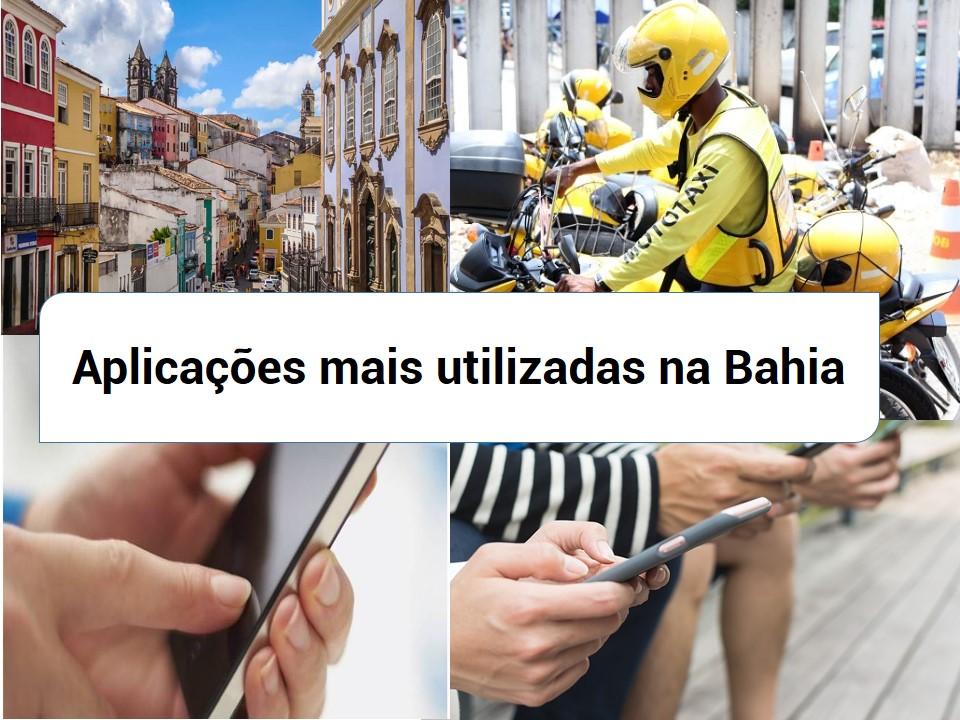 Aplicações famosas na Bahia
