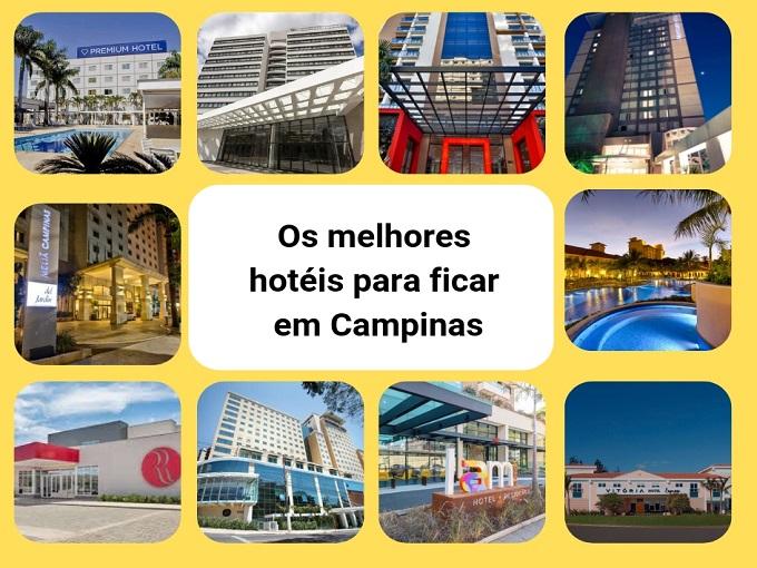 Os melhores hotéis for ficar em Campinas