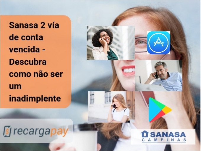 Sanasa 2 via de conta vencida - Emissão e pagamento em Campinas