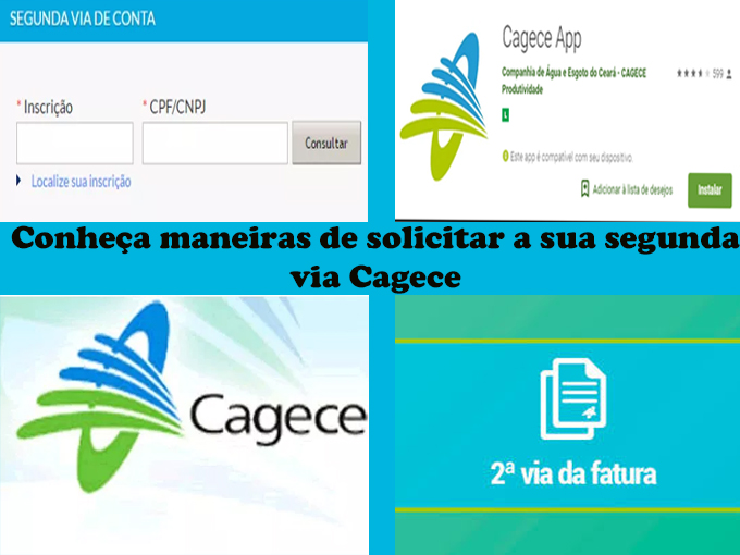 Solicitara 2 via Cagece