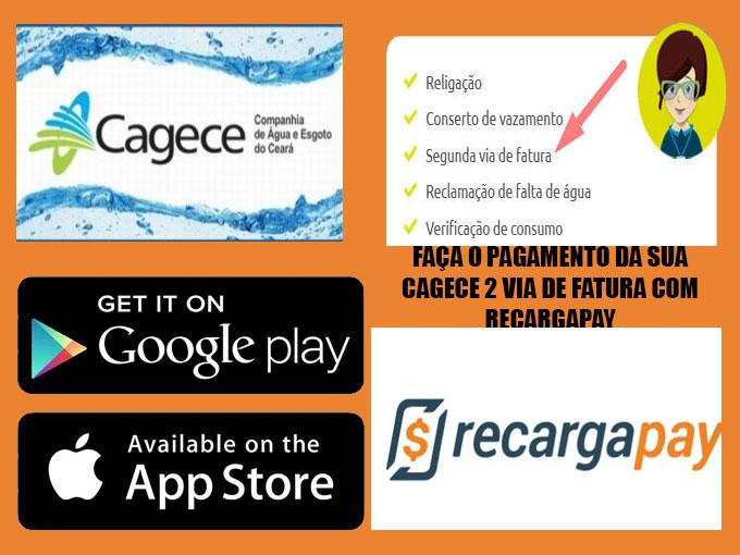 Pague sua conta Cagece com RecargaPay