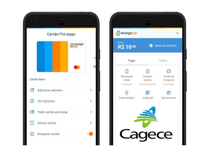 Pague sua segunda via Cagece com RecargaPay