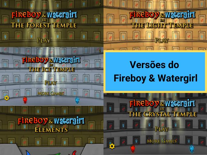 Conheça as versões de Agua e Fogo