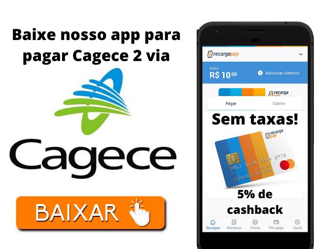 Baixe nosso app para pagar Cagece 2 via