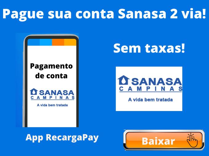 Pague sua conta Sanasa 2 via!