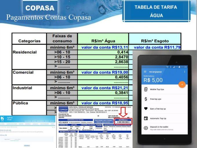 Fatura Copasa 2 via