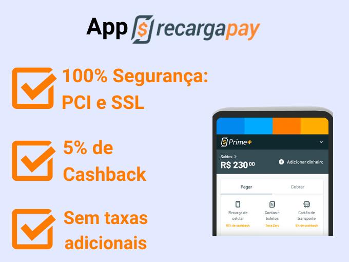 RecargaPay 100% seguranca