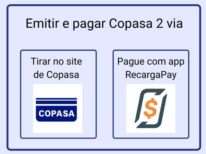 Emitir e pagar Copasa 2 via