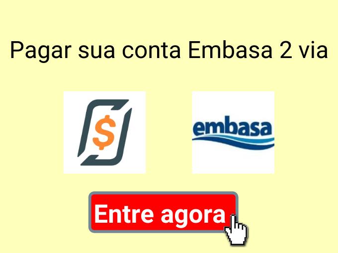 Pagar sua conta Embasa 2 via