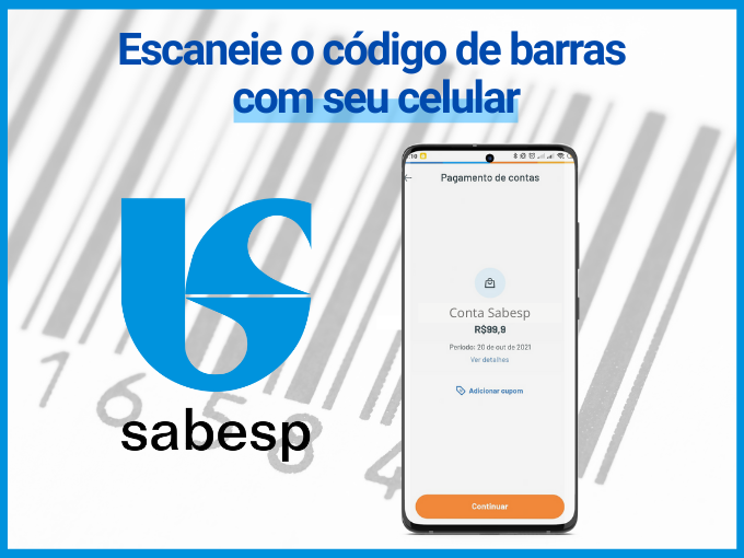 escanear código de barras no app