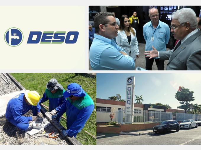 DESO, empresa de serviços de água e saneamento em Sergipe