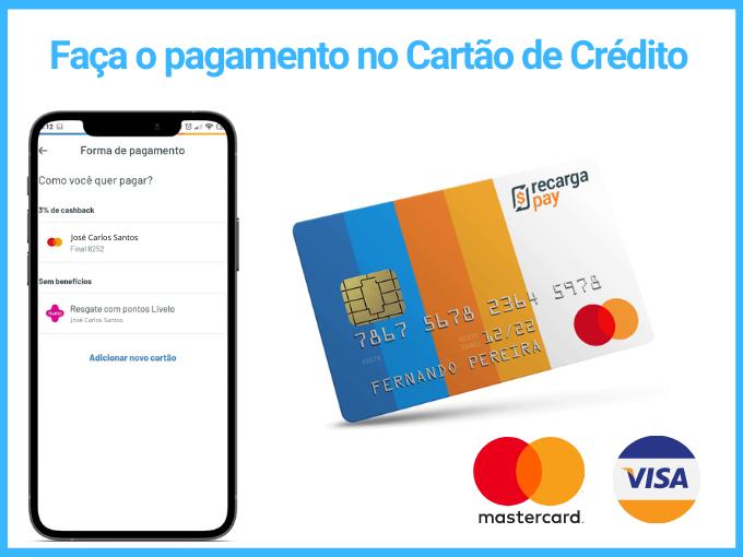 pagar conta de água Sabesp com cartão de crédito